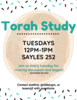 Torah Study, Winter 2020