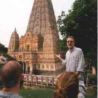 History class at Mahabodhi Tample