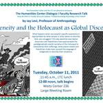 Jay Levi, Indigeneity and the Holocaust as Global Discourses