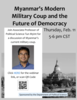 Professor of Political Science Tun Myint discusses Myanmar's current military coup.