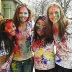 MOSAIC members celebrate Holi at St. Olaf
