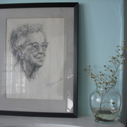 A sketch of Dacie by the mother of an alum.