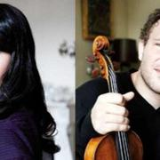 World-renowned pianist Miki Aoki and violinist Rolf Haas