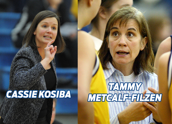 Cassie Kosiba's (left) and Tammy Metcalf-Filzen