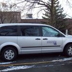 7-passenger flex-fuel Dodge minivan MPG City/Hwy estimate: 17/24