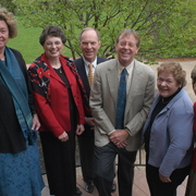 2002 Retiring Employees with President Robert Oden