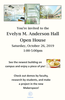 Evelyn M. Anderson Hall Open House