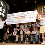 25th Reunion Check Presentation