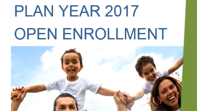 2017 Open Enrollment