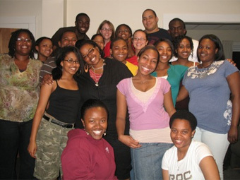 Members of the Black Student Alliance (BSA)