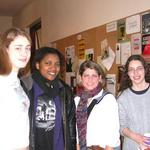 A Friend, Naja, Laura, and Sarah