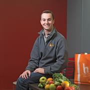 Evan Lutz, owner of Hungry Harvest