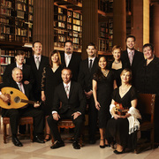 Image of the members of the choral group, The Rose Ensemble.