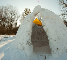 Igloo in Lower Arb