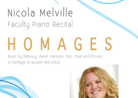 Nicola Melville Faculty Piano Recital