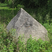 Glacial Erratic in the Arb