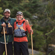 Adventurers and activists, Dave & Amy Freeman.