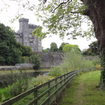 Kilkenny Castle from the River Nore Trail
