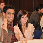 Advait Sinha '12 and Anushka Patel '12