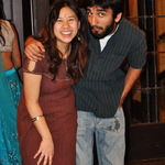 Nancy Liu '13 and Aman Gupta '12