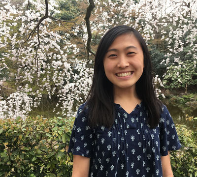 Lisa Au '18 has taken five study abroad opportunities, including Japan.