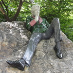 Oscar Wilde in Merrion Square Park, Dublin