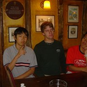 Jake, Braden, and Fue at the Eagle