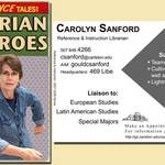 Carolyn Sanford's trading card, 2007-2009