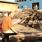 The sawmill, Fall 2010.