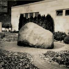 Rock, Boliou, from Vantage Points: Campus as Place, 2001, toned silver gelatin print