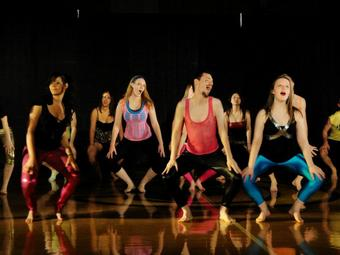 Student choreography is performed once a term in a dance company called Ebony II