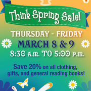 Think Spring Sale March 8-9