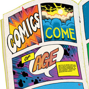 Comics Come of Age illustration