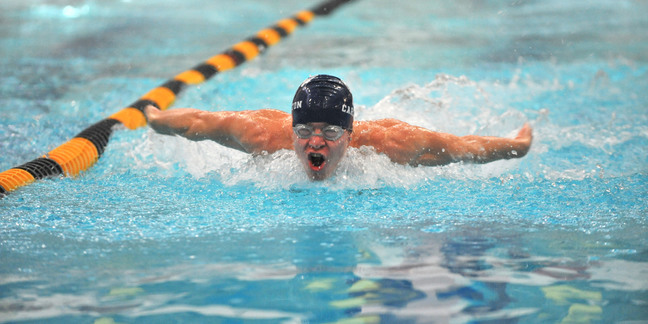 Men 39 s swimming and diving hosts saint john 39 s university - Northfield swimming pool timetable ...
