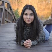 One of NHS senior Tania's senior photos.